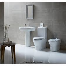 curve luxury designer close coupled toilet one piece cistern