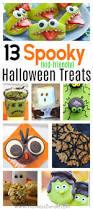 13 not so spooky halloween treats for kids