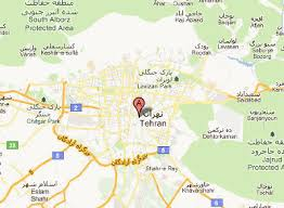 tehran satellite map foto server by carnaval maps and guides tehran maps