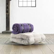 futon azur chauffeuse contemporaine en cuir futon lit buckle up