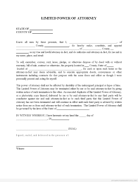 Medical Power Of Attorney Texas Form by Best Photos Of Power Of Attorney Printable Free Printable