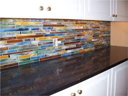 Horizontal Tile Backsplash - Modern backsplash tile