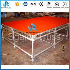 New Year Stage Decorations by New Year Stage Decoration Aluminum Stage Truss Used Portable Stage