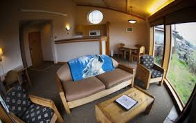 Quileute Oceanside Resort La Push oceanside cabins some with