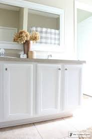 snow white milk paint kitchen cabinets painting a bathroom cabinet with general finishes milk paint