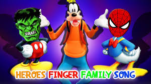 Mickey Mouse Halloween T Shirts by Hulk Mickey Mouse And Spiderman Donald Heroes Finger Family Song