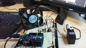 exhaust fan temperature switch arduino tutorial lm35 temp sensor youtube