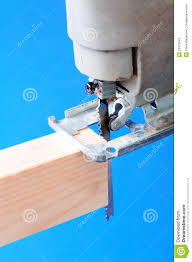 jigsaw wood jigsaw cutting wood stock image image of carpentry blade 22019645