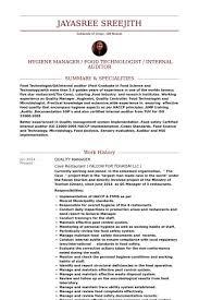 Pest Control Resume Sample Plant Equipment Manager Resume Cv Krishna Mall Manager Plant