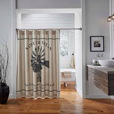 Charcoal Shower Curtain Sawyer Mill Charcoal Windmill Shower Curtain 72x72