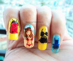 mesmerizing world of nail art summer dresses nail art