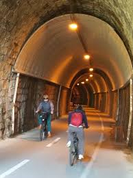 bicycle bliss trail on italian riviera is easy and scenic