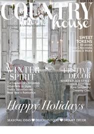 Country Home Decor Magazine 11 2015 Country House Magazine