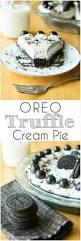 oreo truffle cream pie a bajillian recipes