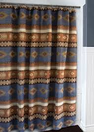 Southwest Shower Curtains Marvelous Southwestern Shower Curtains And Blue Southwest
