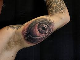 chronic ink toronto inside arm eye