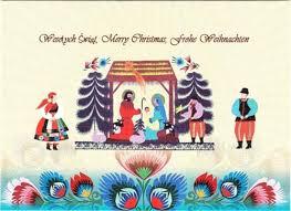 center folk card the manger