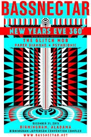 bassnectar nye poster bassnectar nye 360 2015 lineup tickets dates times schedules