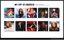 Red Hair Girl Meme - my top 10 favorite red haired girls meme by normanjokerwise on