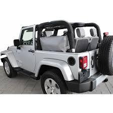 jeep wrangler grey interior rightline gear side storage bag jeep wrangler jk 2 door