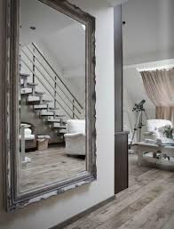 leaning floor mirror abbyson venice studded leaning floor mirror