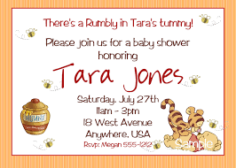 winnie the pooh baby shower invitations winnie the pooh baby
