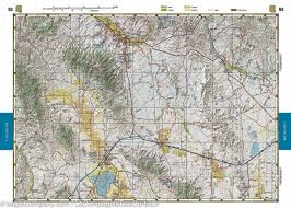 Road Map Arizona by Arizona Road U0026 Recreation Atlas Benchmark U2013 Mapscompany