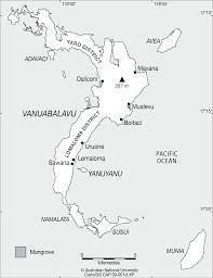 Map Of Fiji Vanuabalavu Fiji Cartogis Services Maps Online Anu