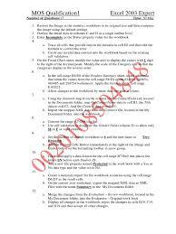 download 77 427 microsoft excel 2013 expert part 1 exam questions