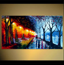 original abstract modern landscape made artonlinegallery couples acrylics