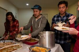 drury international student association hosts thanksgiving dinner