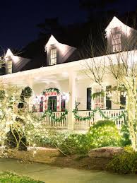 Four Lights Houses Outdoor Christmas Lights Hgtv