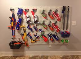 nerf gun storage Google Search Markie s cool stuff