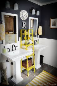Kids Bathrooms Ideas Colors Best 20 Grey Yellow Bathrooms Ideas On Pinterest Grey Bathroom