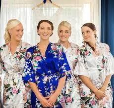 bridesmaid satin robes rb007 satin robe bathrobes bridesmaid robes kimono silk