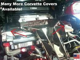 corvette stainless creations corvette c4 1994 1996 chrome stainless radiator cover