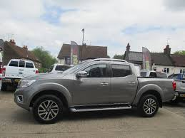 gray nissan truck used nissan navara pickup 2 3 dci tekna double cab pickup 4wd 4dr