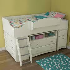 South Shore Bunk Bed Imagine 3 Loft Bed White 3560 A3 Bunk Loft Beds By
