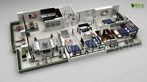 Free Floor Plan Creator More Bedroom 3d Floor Plans Imanada Kitchen Bathroom Cute Design