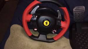 thrustmaster 458 review thrustmaster 458 spider racing wheel review