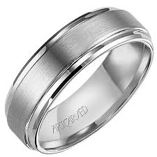 carved wedding bands artcarved mens exquisite carved wedding band in tungsten carbide 7mm