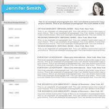 Office Word Resume Template Free Download Resume Templates For Microsoft Word 2010 Resume