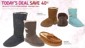 bearpaw s boots sale bearpaw boots 40 today only for savings