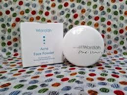 Bedak Tabur Wardah Anti Acne review wardah acne powder dhe ujha s