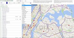 Real Time Maps Enroute U0027 Real Time Ny City Bus Tracking Web App Codeproject