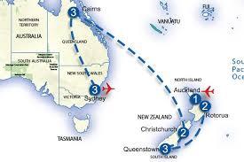auckland australia map discover new zealand and australia