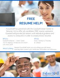 assistance with resume writing free resume help for job seekers in newnan ga future staff inc free resume help for job seekers in newnan ga