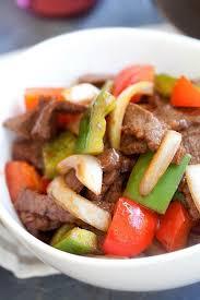 cuisine steak black pepper beef easy delicious recipes rasa malaysia