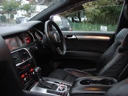 jeep audi audi q7 3 0 tdi automatic diesel s line quattro private plate