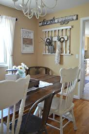 Farmhouse Dining Room Lighting by Simple Farmhouse Style Dining Room Little Vintage Nest